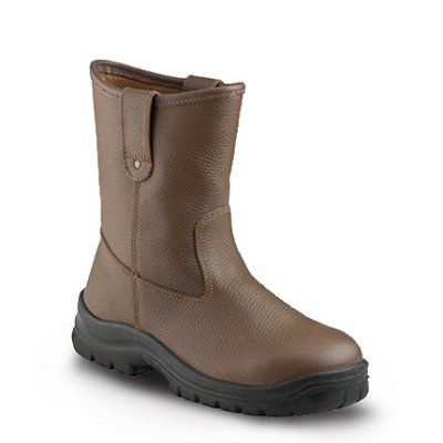 sepatu-safety-krusher-texas-brown